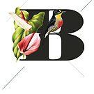 Botanical Alphabet B von froileinjuno