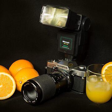 Olympus and the Oranges  by hawkie