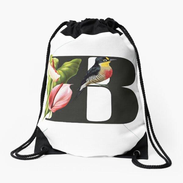 Botanical Alphabet B Turnbeutel