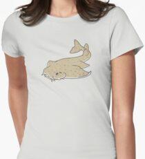 Angel shark Women's Fitted T-Shirt