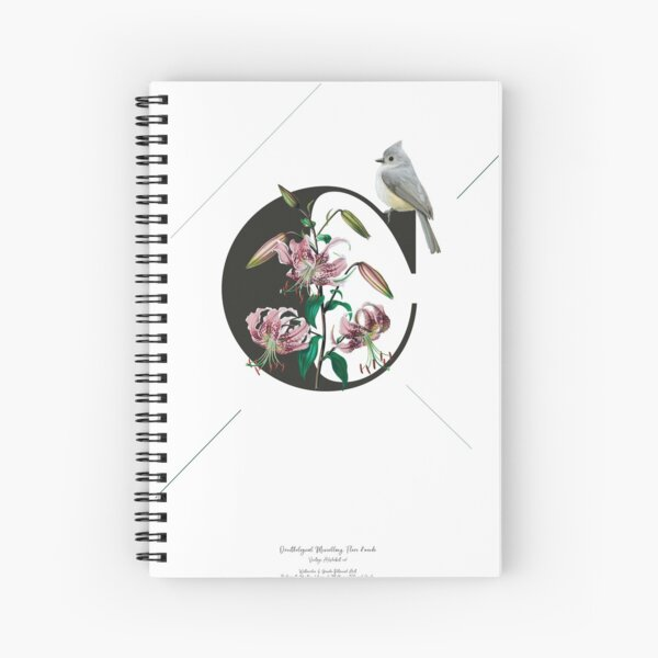Botanical Alphabet C Spiralblock