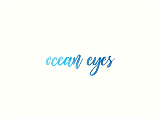 Ocean Eyes by Patricia Hart