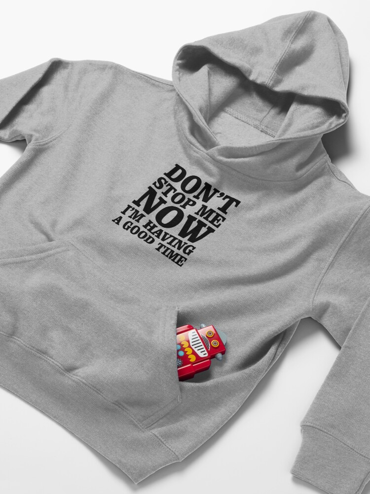 Alternate view of Don't Stop Kids Pullover Hoodie