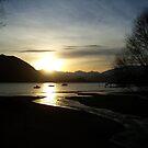 Sunset Over Lake Wanaka by cmrphotography