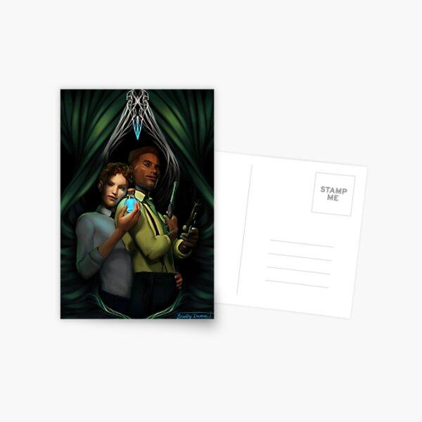 Jesper and Wylan Postcard