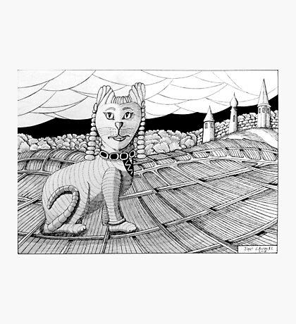 274 - CLEOCATRA - DAVE EDWARDS - INK - 2018 Photographic Print