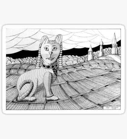274 - CLEOCATRA - DAVE EDWARDS - INK - 2018 Sticker