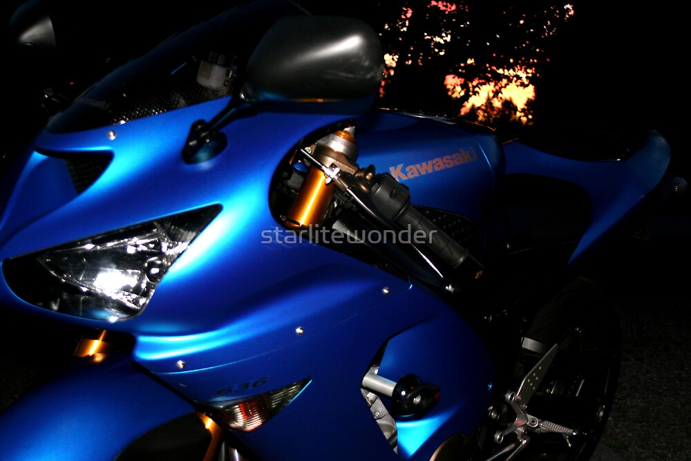 Kawasaki Sunset by starlitewonder