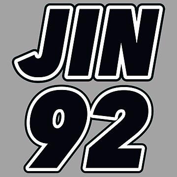 BTS member: JIN (KIM SEOK JIN, 김석진) by InniCo