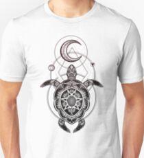 Moon Turtle Big Unisex T-Shirt