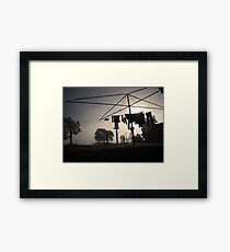 Washing.  Framed Print