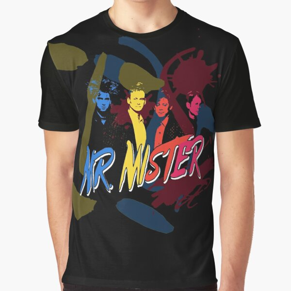 Mr Mister Graphic T-Shirt