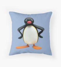 pingu! Throw Pillow