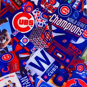 Chicago Cubs Multi Banners Badges by Glyn123