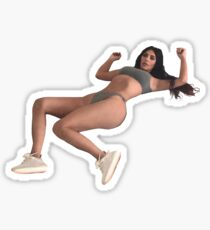 kim k meme Sticker