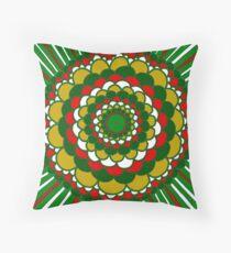 Christmas Mandala Floor Pillow