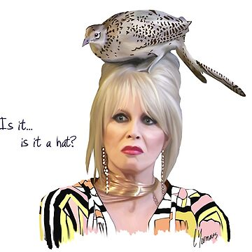 Patsy Stone - Is it a hat? by Podfish