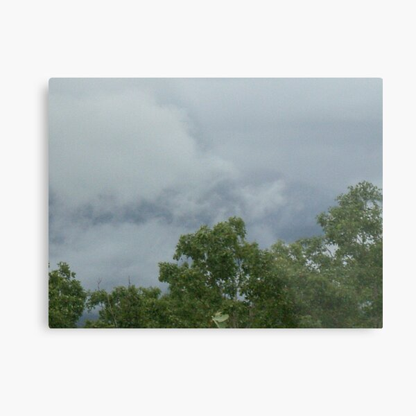 Stormy Metal Print