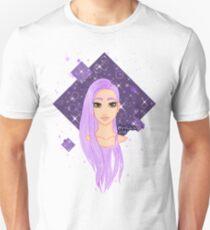 purple hair Unisex T-Shirt