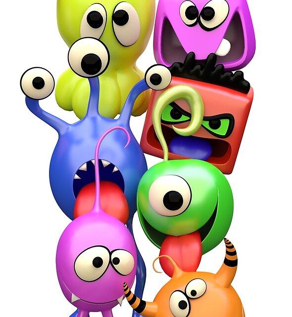 Monster Friends by Richard Rabassa