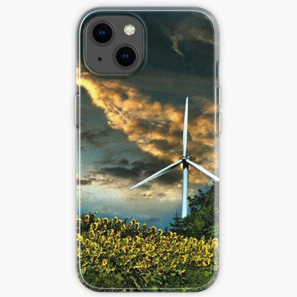 Sunfllower field II iPhone Soft Case