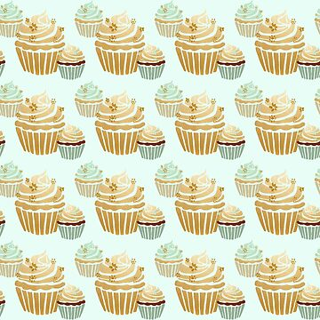 Cute Cupcakes Cupcake Lover Funny Cupcake Cook, Baker,Baking by LoveAndSerenity