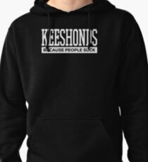 Keeshonds Dog Tee Cute Funny Dog Gifts Pullover Hoodie