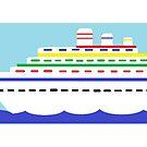 Kruzeru/ Cruise Ship by SkolaNobu