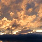 Golden Stormy Lindisfarne Sky by hoppityhops
