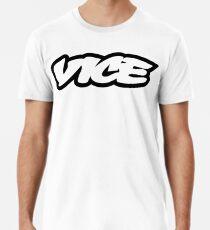 Camiseta premium para hombre Vicio