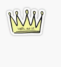 Crown Sticker Sticker