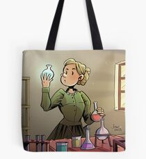 Marie Curie Comic Cover Tote Bag