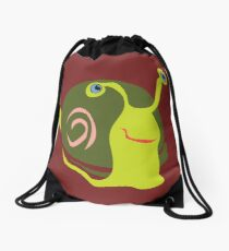 Funky snail from the Great Dismal Swamp Drawstring Bag