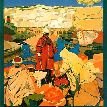 Algeria, Africa Travel Poster by ExpressingSelf