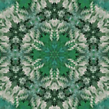 Green mandala  3 by fuzzyfox