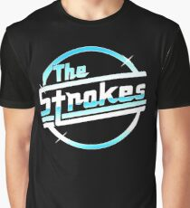 the strokes blue Graphic T-Shirt