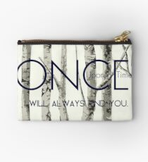 """Once Upon a Time (OUAT) - """"I Will Always Find You."""" Studio Pouch"""