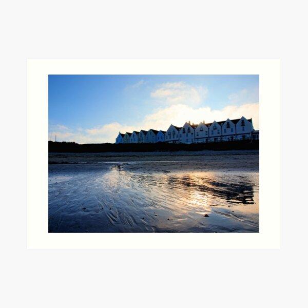 Braye Houses - Alderney Art Print