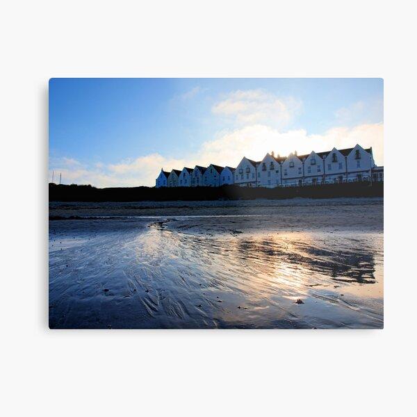 Braye Houses - Alderney Metal Print