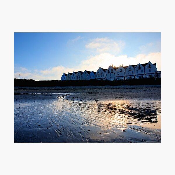 Braye Houses - Alderney Photographic Print