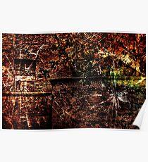 Urban Decay Chaos Fine Art Print Poster