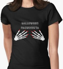 Halloween Fashionista Women's Fitted T-Shirt