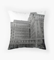 55 Broadway Throw Pillow