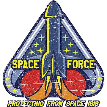 Funny Space Force  by Coldink