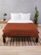 The Shining - Overlook Hotel - large Carpet Pattern Throw Blanket