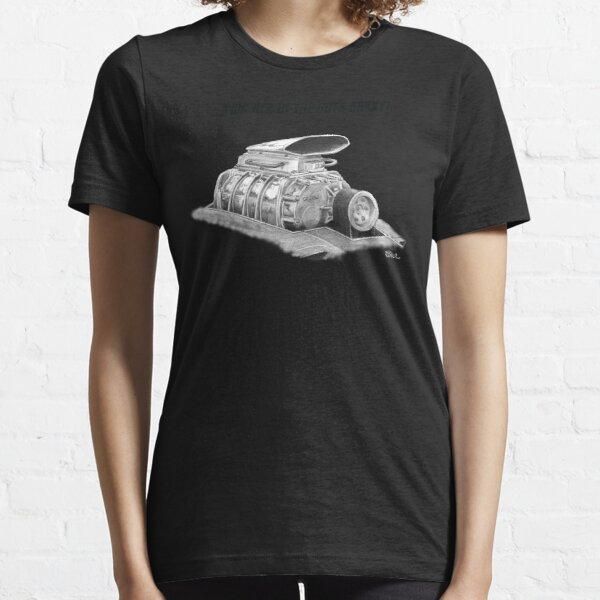 Mad Max Interceptor Supercharger Essential T-Shirt