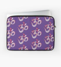 Om Watercolor Aum Laptop Sleeve