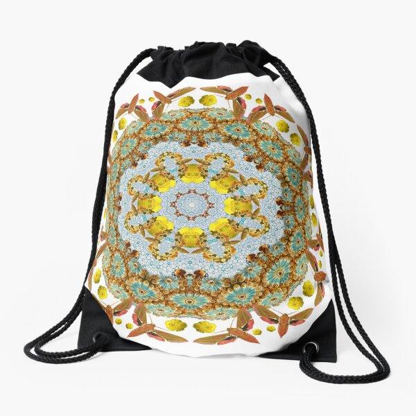 Elegant Nature Drawstring Bag