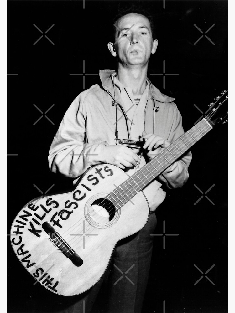 woody guthrie - this machine kills fascists by MoSt90