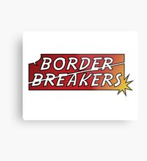 Border Breakers logo - Color Metal Print